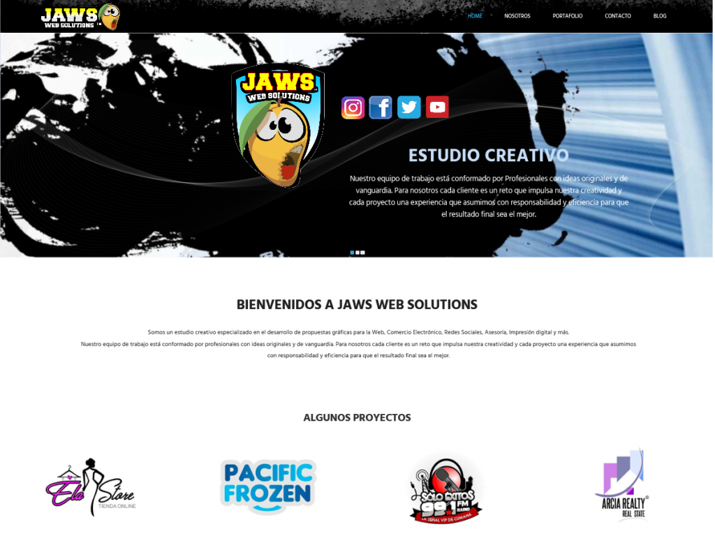 JAWS WEB SOLUTIONS WEB SITE